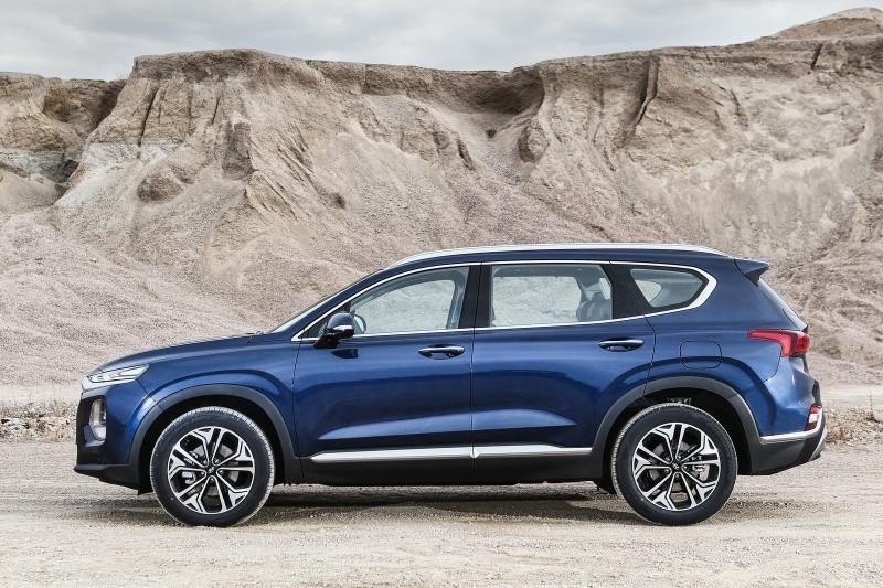Hyundai Santa Fe prijzen en specificaties