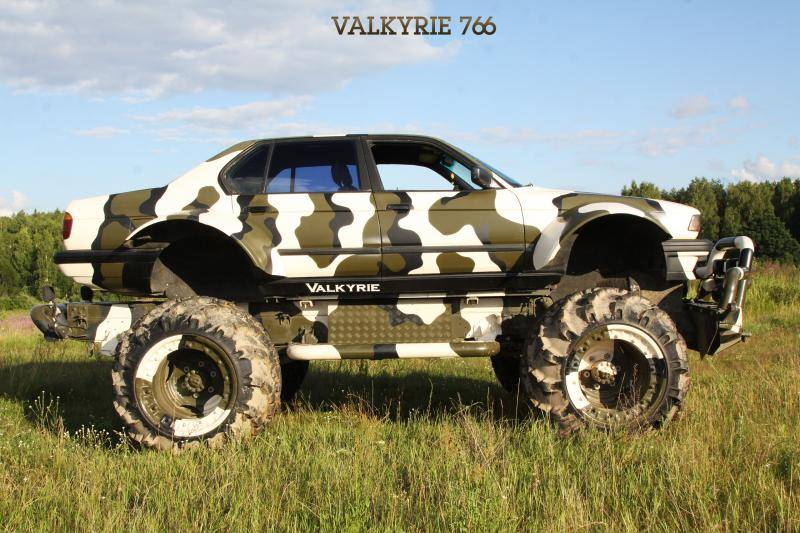 You can rent this BMW 750i monster truck!