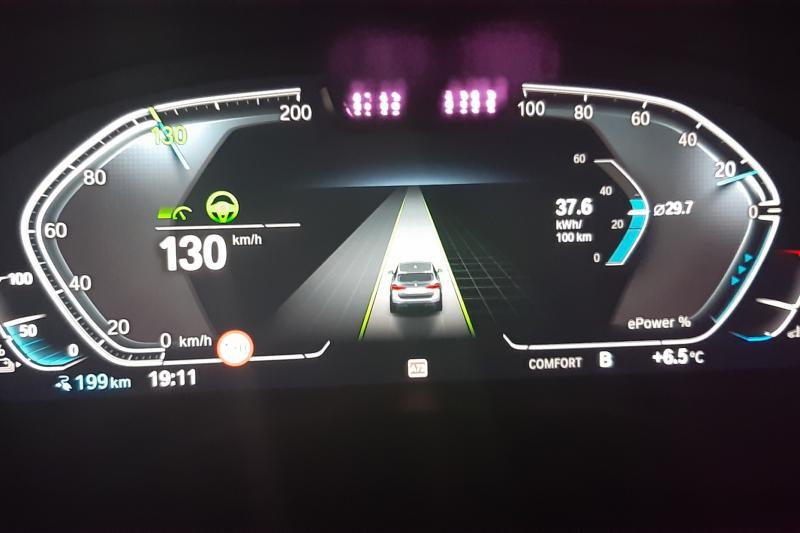 BMW iX3: actieradius gemeten bij 100 en 130 km/h