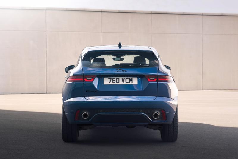 Gefacelifte Jaguar E-Pace ook als plug-in hybride