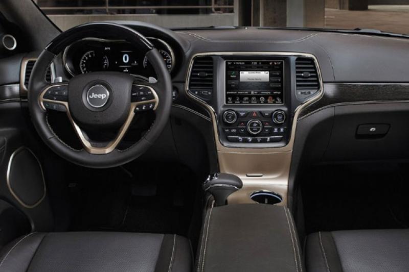 Jeep Grand Cherokee prijzen en specificaties