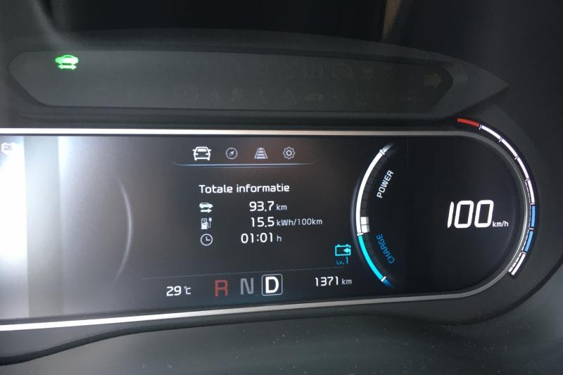 Kia e-Soul: actieradius gemeten bij 130 en 100 km/h