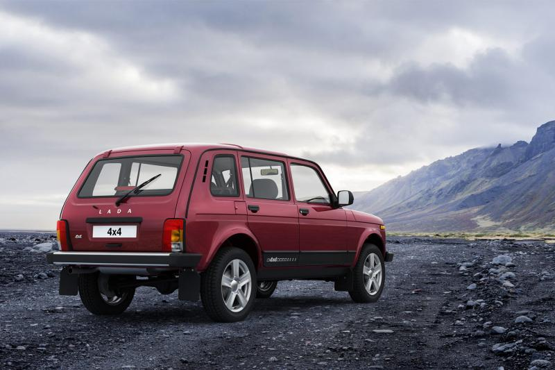 Lada Niva finally in new condition after forty-four years!