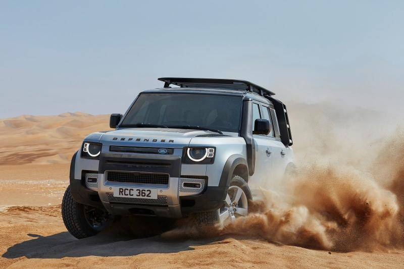 Land Rover Defender 110 prijzen en specificaties