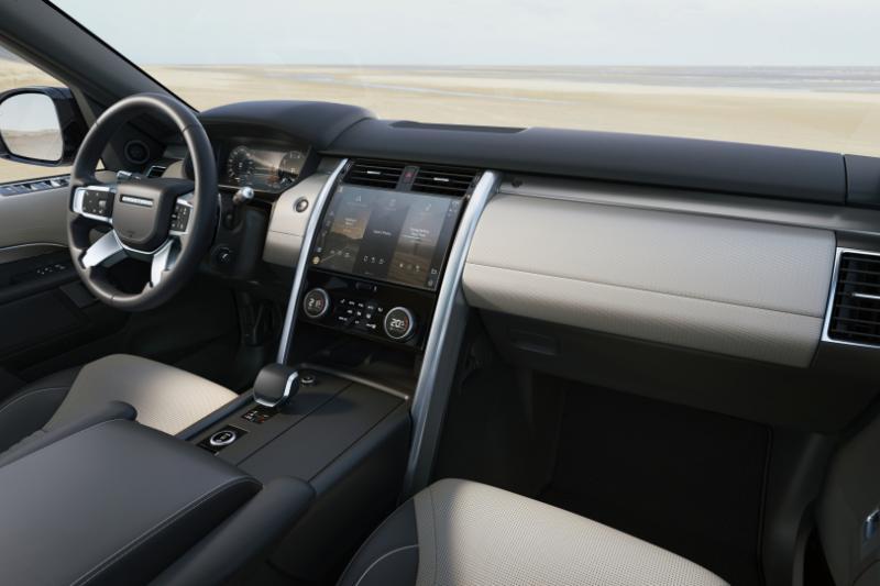 Vernieuwde Land Rover Discovery niet als plug-in hybride