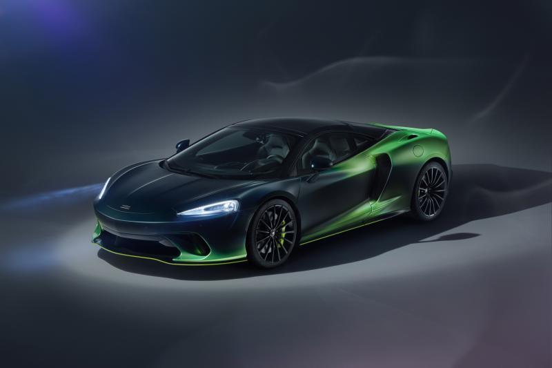 Is de McLaren Verdant Theme GT in een vat radioactief afval gevallen?