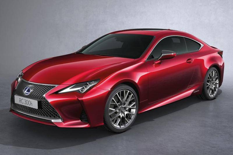 Lexus RC prijzen en specificaties