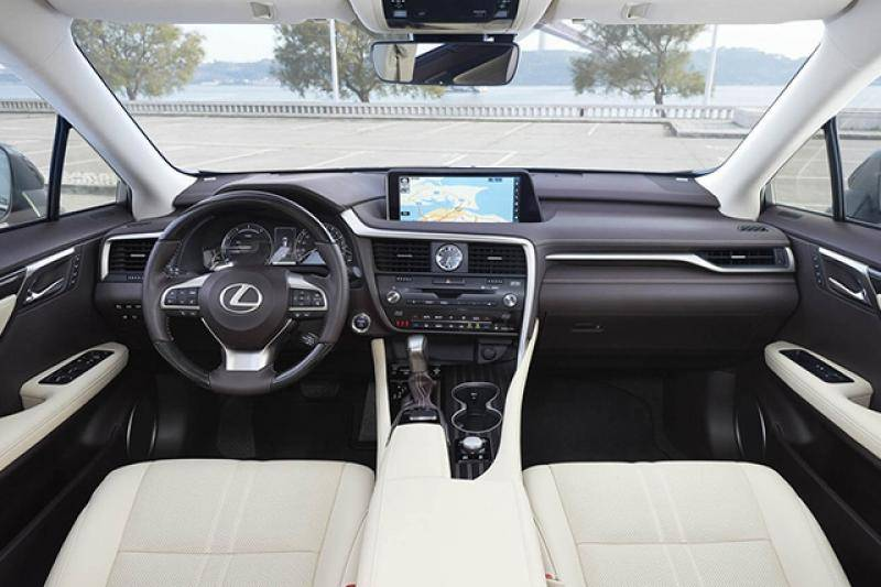 Lexus RX-serie prijzen en specificaties