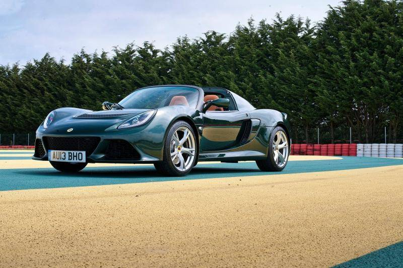 Lotus Exige roadster prijzen en specificaties