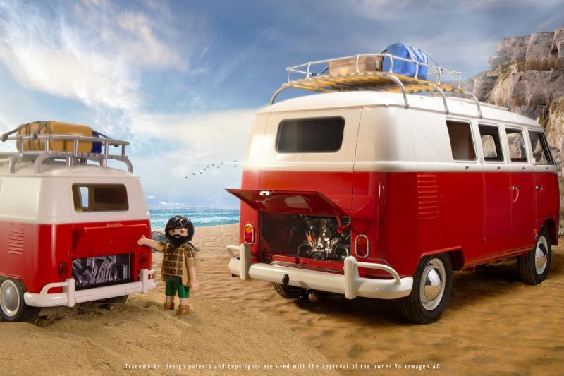Ook voor niet-kinderen! De Volkswagen T1 'Bulli' van Playmobil