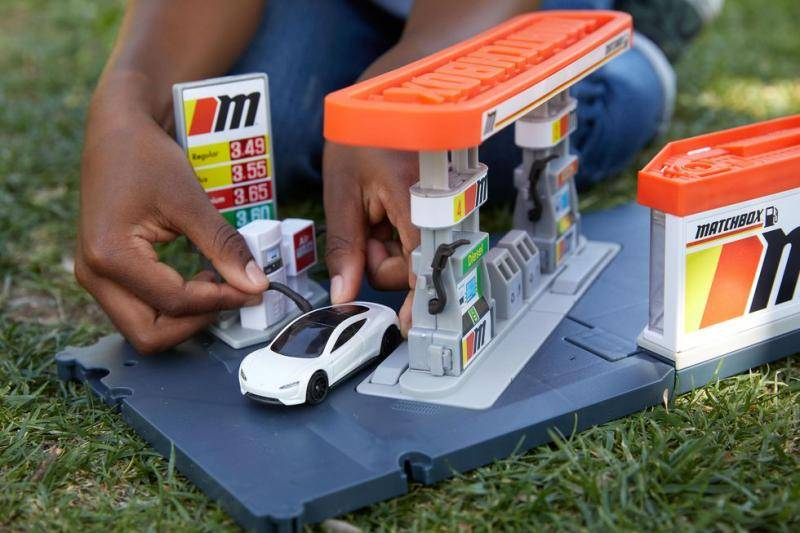 Je kon erop wachten: ook de modelautootjes van Matchbox worden duurzaam!