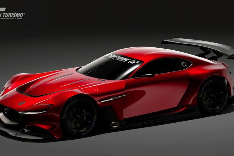 Mazda RX-Vision GT3 doet Zoom-Zoom in Gran Turismo Sport