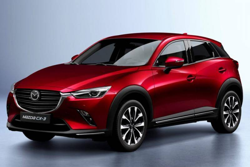 Mazda CX-3 prijzen en specificaties