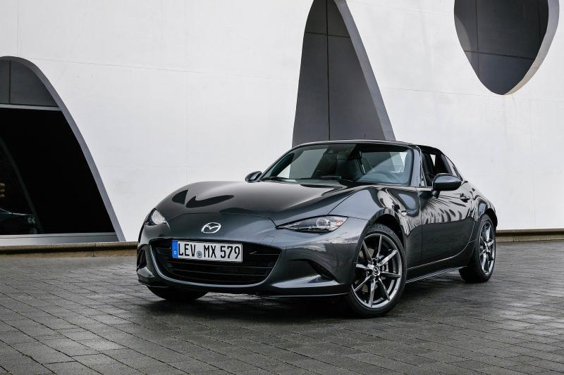 Mazda MX-5 RF prijzen en specificaties