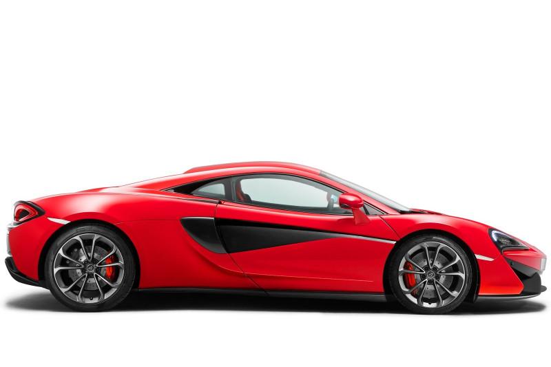 McLaren 540C coupe prijzen en specificaties