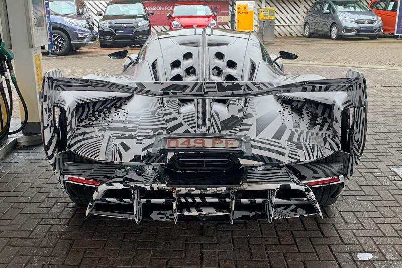 McLaren Sabre - Hier rijdt de opvolger van de McLaren P1