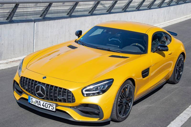 Mercedes AMG-GT Coupe prijzen en specificaties