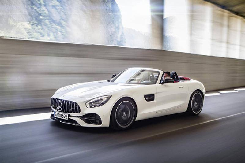 Mercedes AMG-GT Roadster prijzen en specificaties