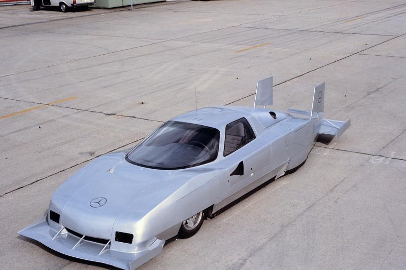 Waarom de vetste Mercedes C-klasse nooit in productie ging