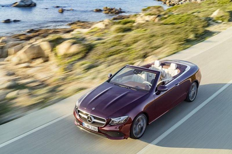 Mercedes E-cabrio prijzen en specificaties