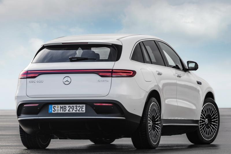 De elektrische Mercedes EQC is opeens 10.000 euro goedkoper geworden
