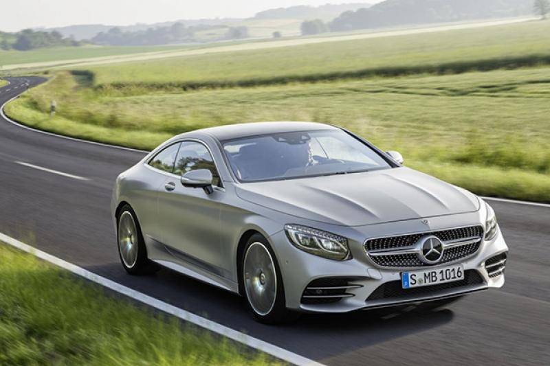 Mercedes S-coupe prijzen en specificaties