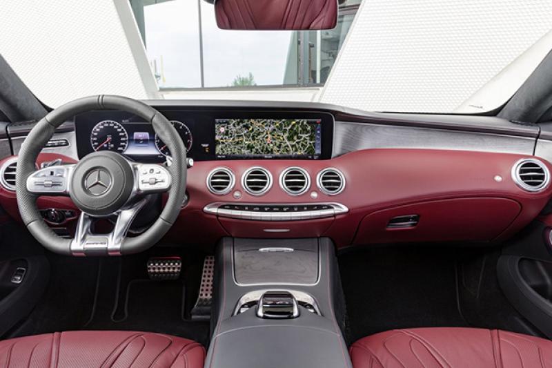 Mercedes-Benz S-klasse Coupé