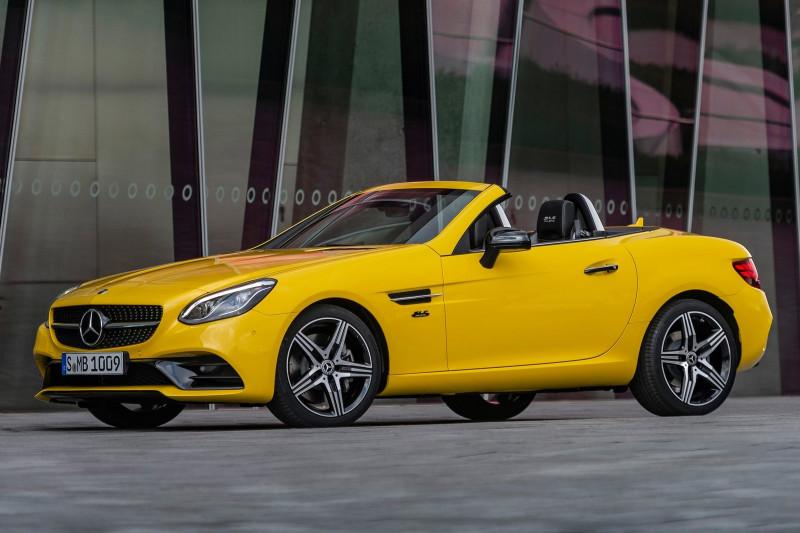 Mercedes SLC prijzen en specificaties