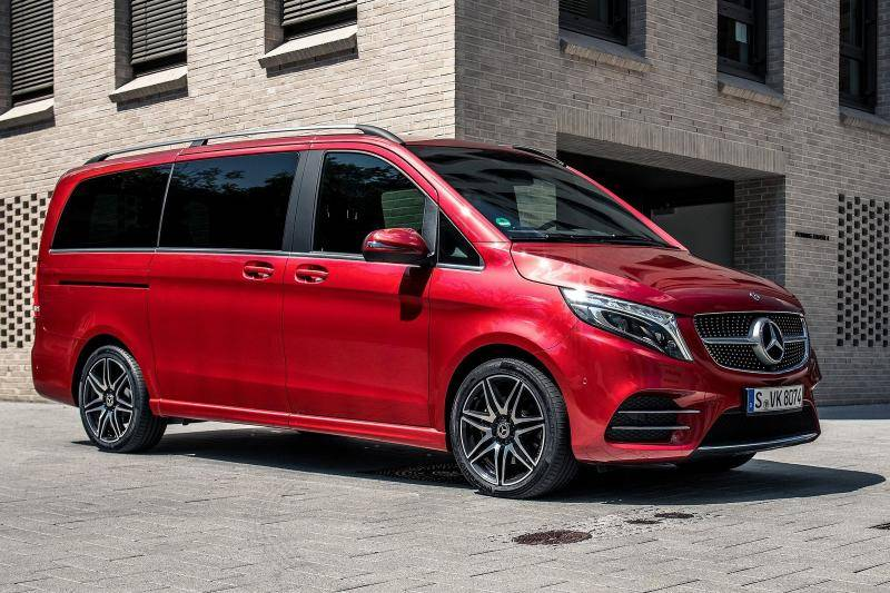 Mercedes V-klasse prijzen en specificaties