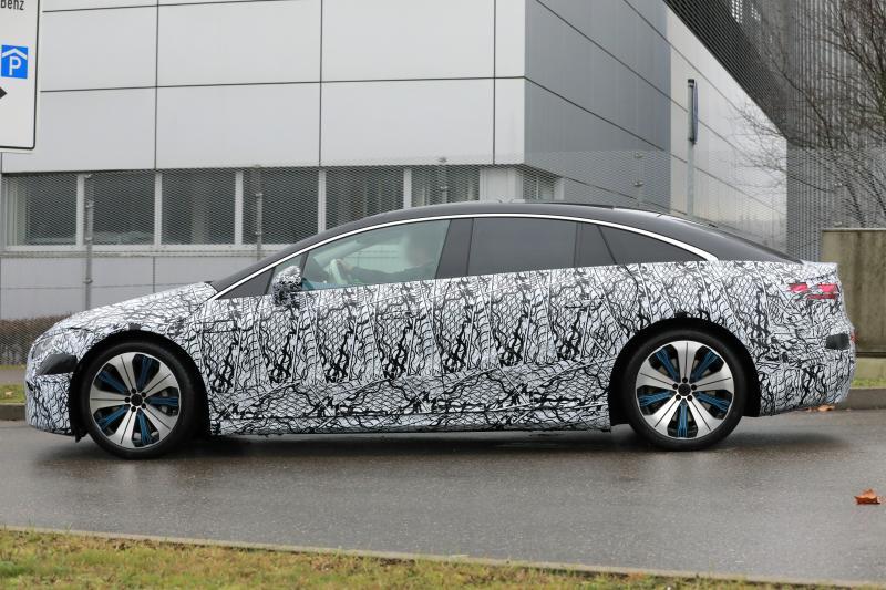Je kunt nu al een elektrische Mercedes EQS bestellen