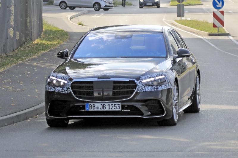 Gespot: Nieuwe Mercedes S-Klasse wordt niet radicaal anders