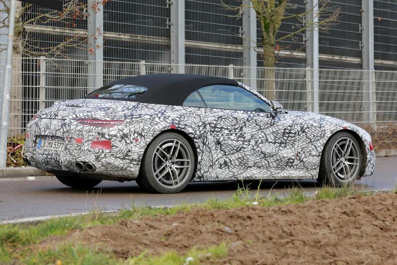 Nieuwe Mercedes SL heeft wel héél duidelijk AMG GT-trekjes