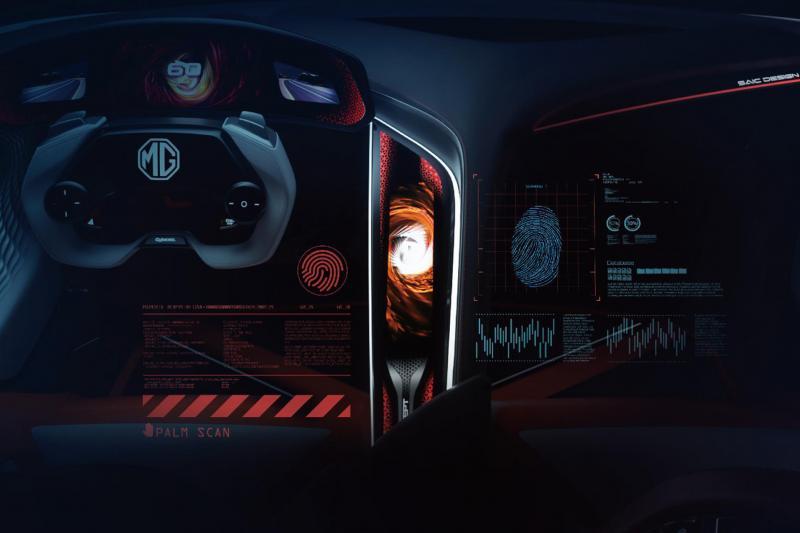 Elektrische MG Cyberster Concept - Komt de aloude MG B terug?