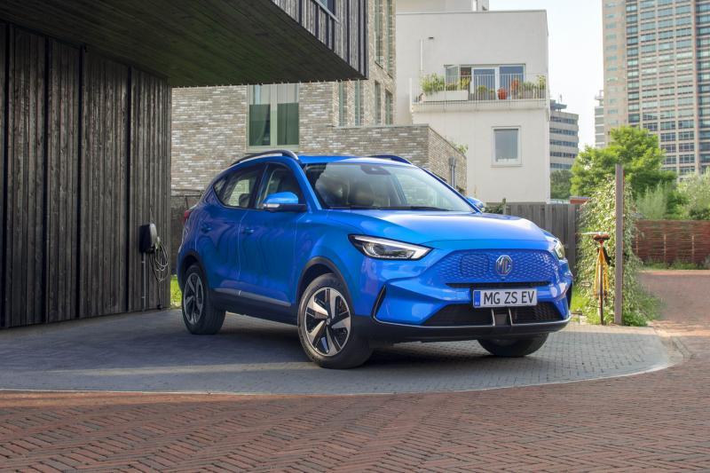 Vernieuwde MG ZS EV (2021) krijgt Tesla Model Y-neus en grotere batterijen