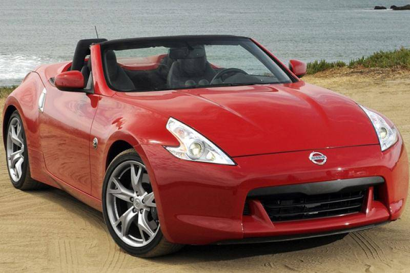 Nissan 370 Z roadster prijzen en specificaties