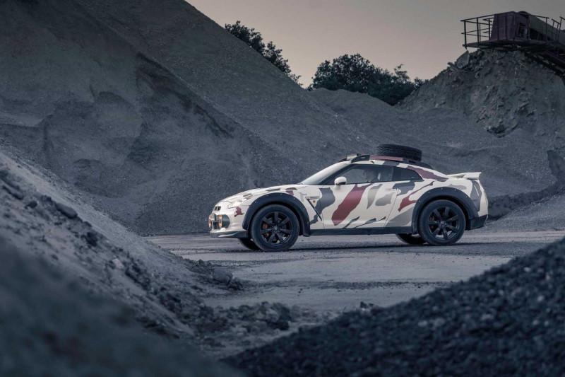 Met deze Nissan GT-R Offroad kun je de Dakar-rally rijden