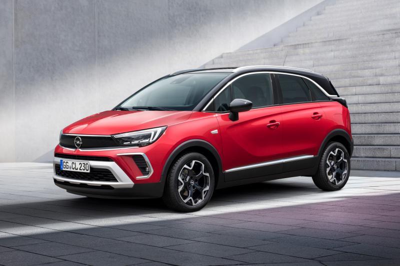 Prijs Opel Crossland bekend: Vanaf 22.000 euro heb je er een