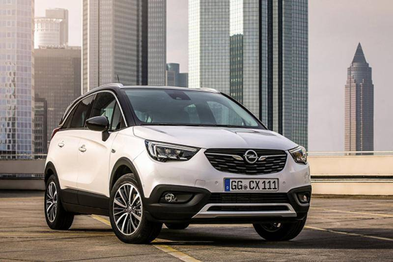 Opel Crossland X prijzen en specificaties