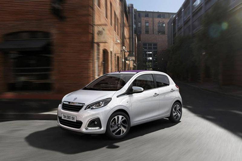 Peugeot 108 5-drs prijzen en specificaties