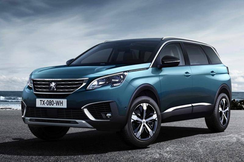 Peugeot 5008 prijzen en specificaties