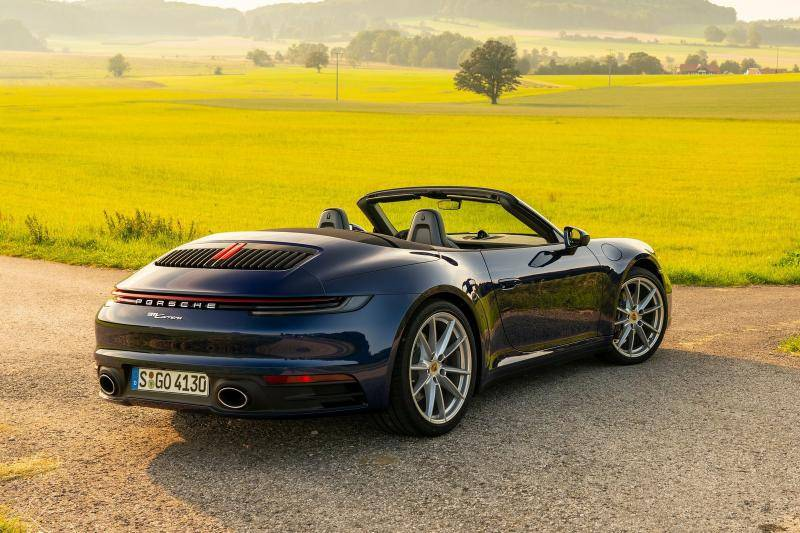 Porsche 911 (992) Cabriolet prijzen en specificaties