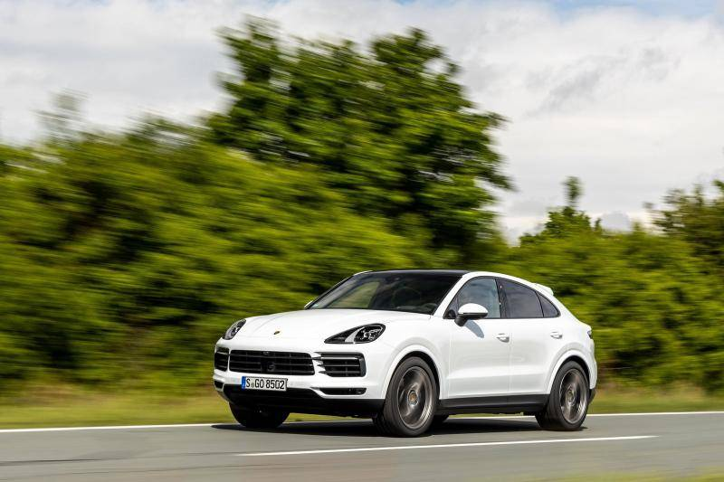 Porsche Cayenne Coupe prijzen en specificaties