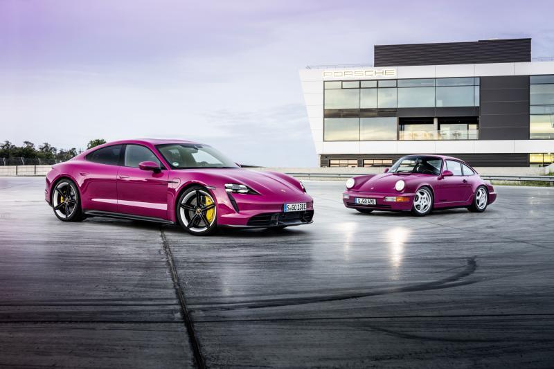 Cultkleuren voor Porsche Taycan - Nu heb je geen excuus meer om hem in het grijs te bestellen!