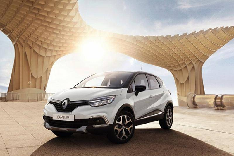 Renault Captur prijzen en specificaties