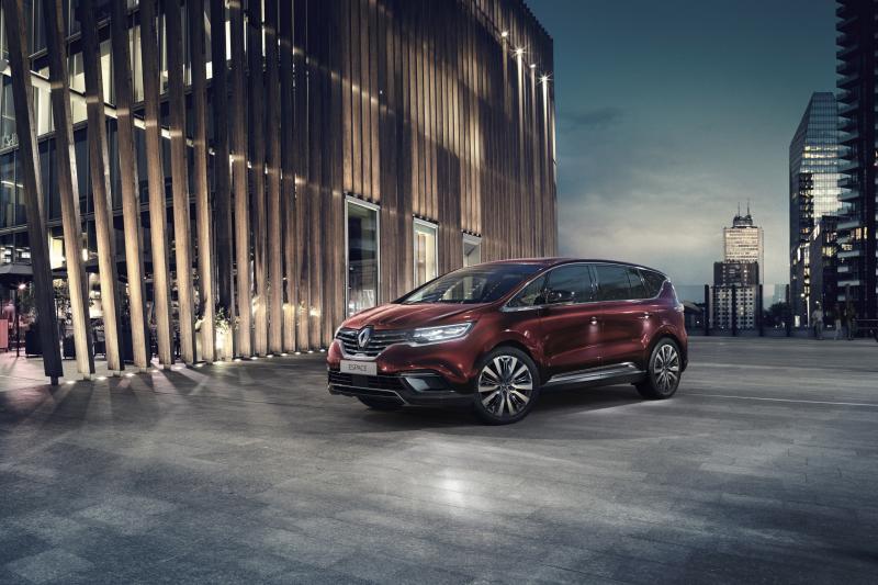 'Renault stopt met de Scenic, Espace en Talisman'