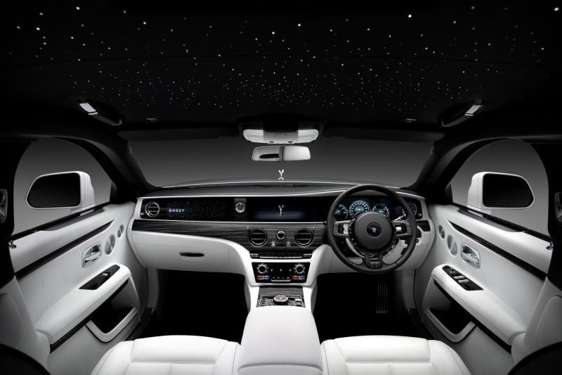 Wat is er eigen zo nieuw aan de nieuwe Rolls-Royce Ghost?