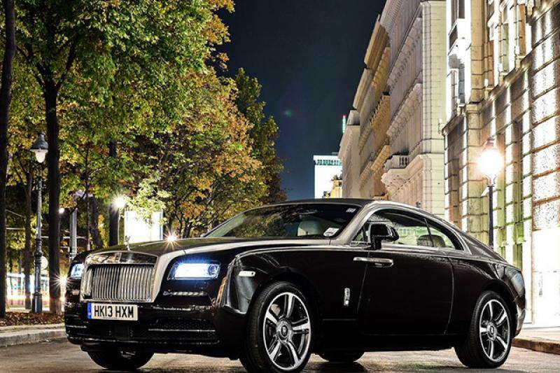 Rolls Royce Wraith prijzen en specificaties