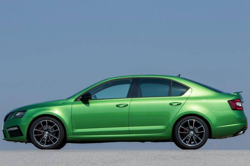 Skoda Octavia RS prijzen en specificaties