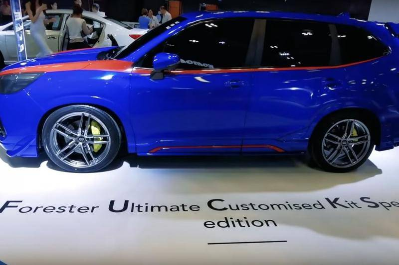 Maak kennis met de … ahum … Subaru Forester FUCKS-edition