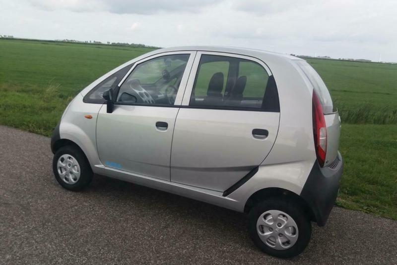 Tata Nano: Goedkoopste auto ter wereld duikt op in Nederland